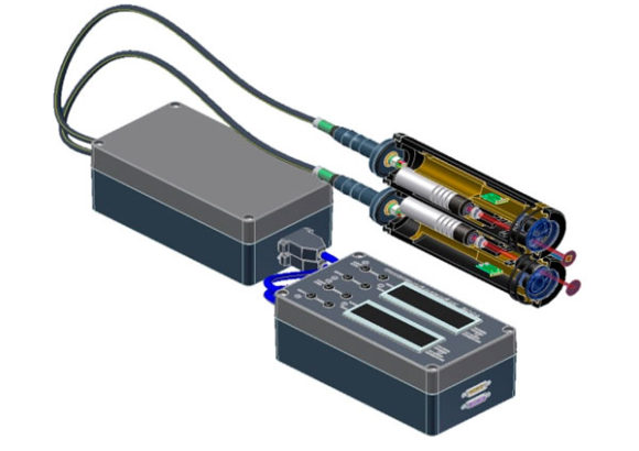 Относительный двухкомпонентный лазерный лаг «ЛАГ-Л-2»