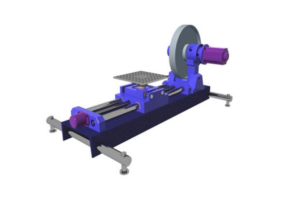 Стенд для поверки лазерных и оптических измерителей скорости и длины «СИ-01»